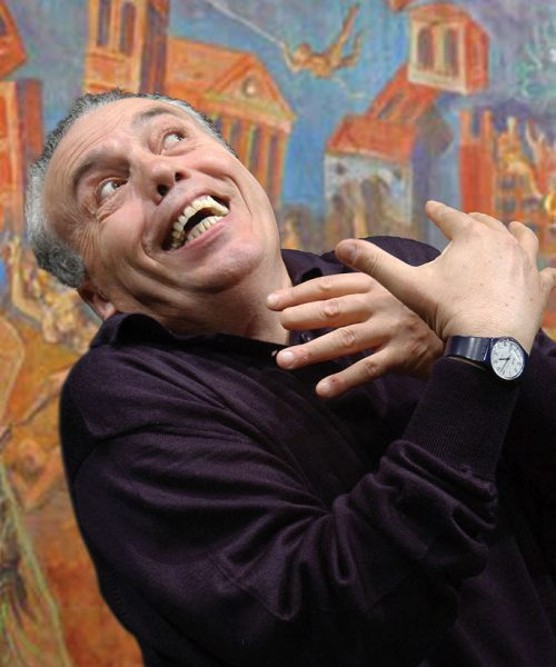 Mario Pirovano san francesco dario fo